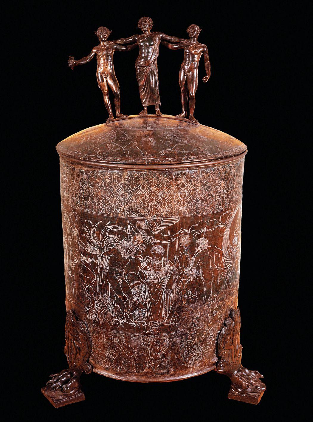 corredo funebre degli etruschi