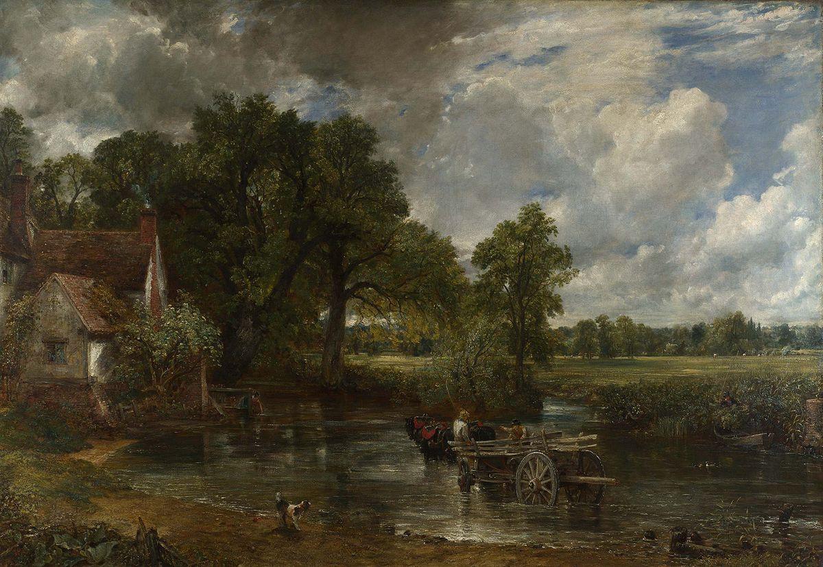 Il carro del fieno, John Constable