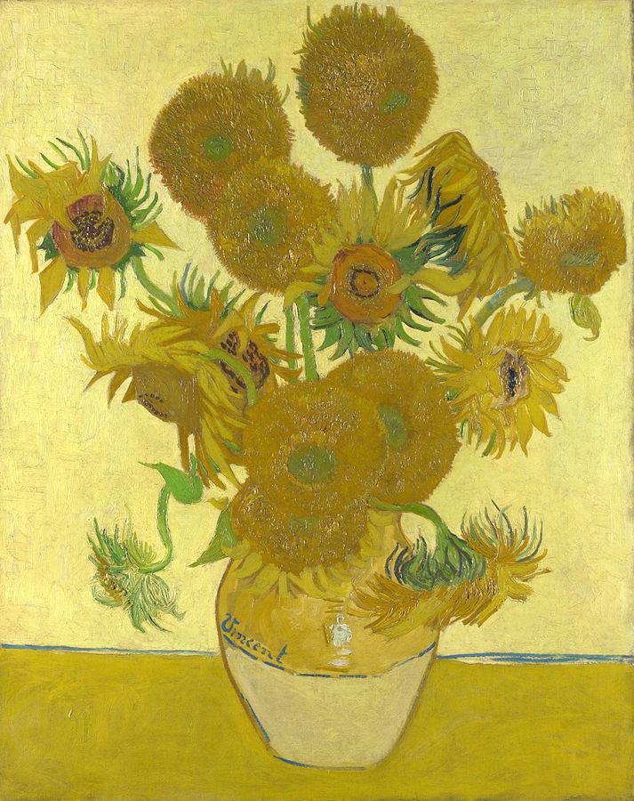 Vincent van Gogh, Girasoli