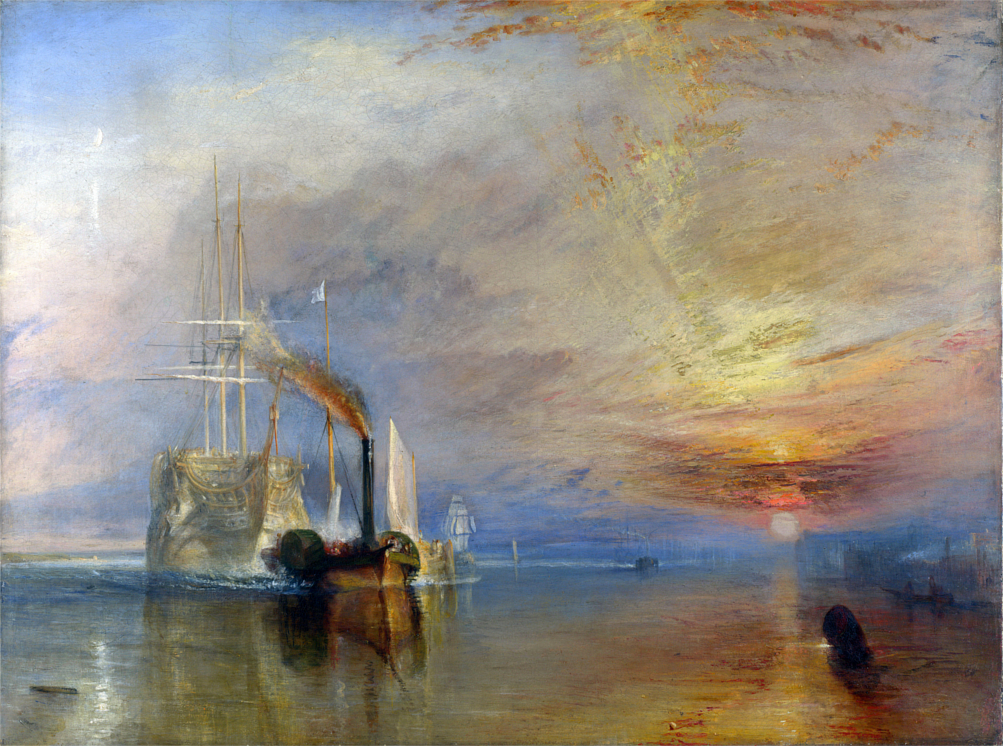 La valorosa Temeraire, William Turner