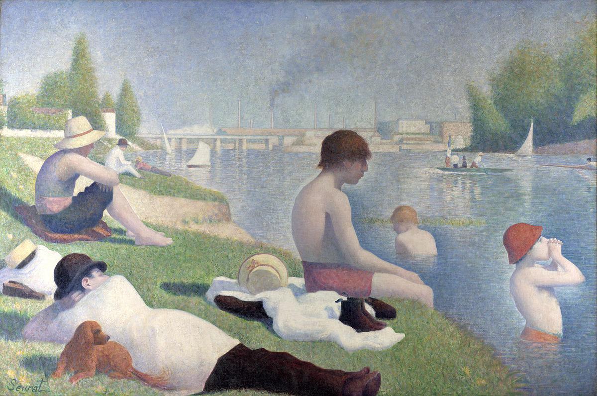 I bagnanti ad Asnières, Georges Seurat