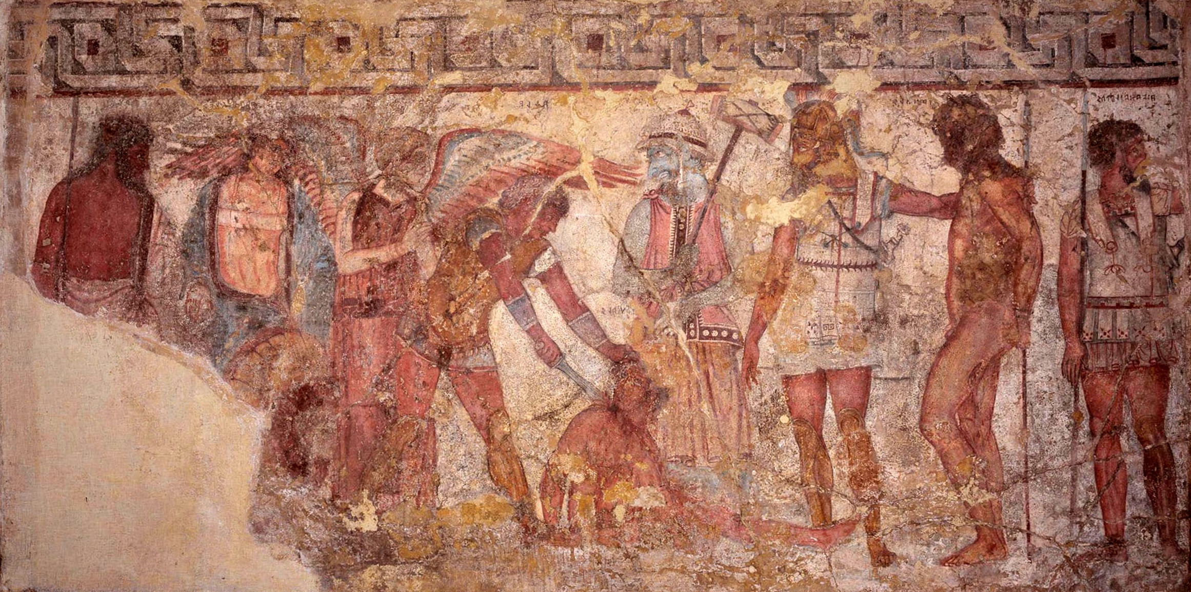 La tomba François di Vulci