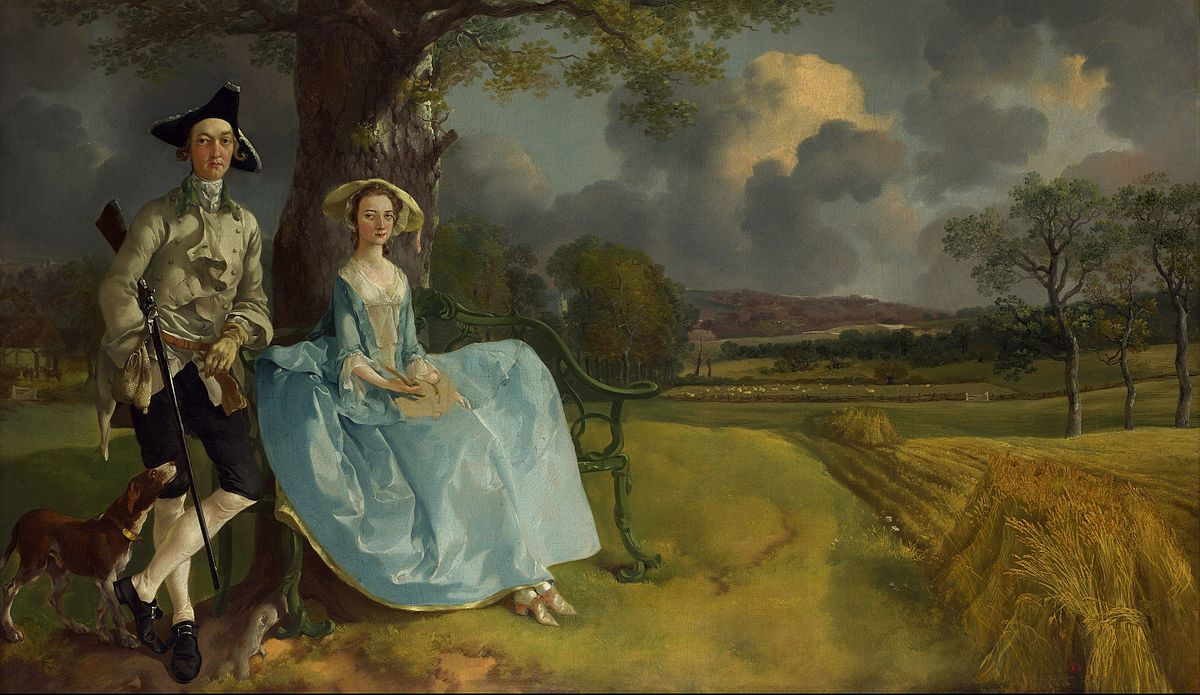 Coniugi Andrews, Thomas Gainsborough