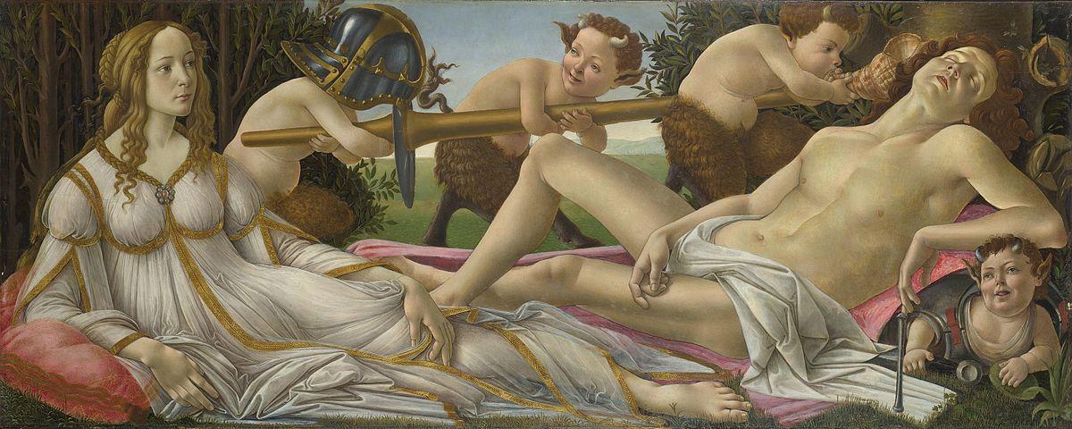 Venere e Marte, Sandro Botticelli
