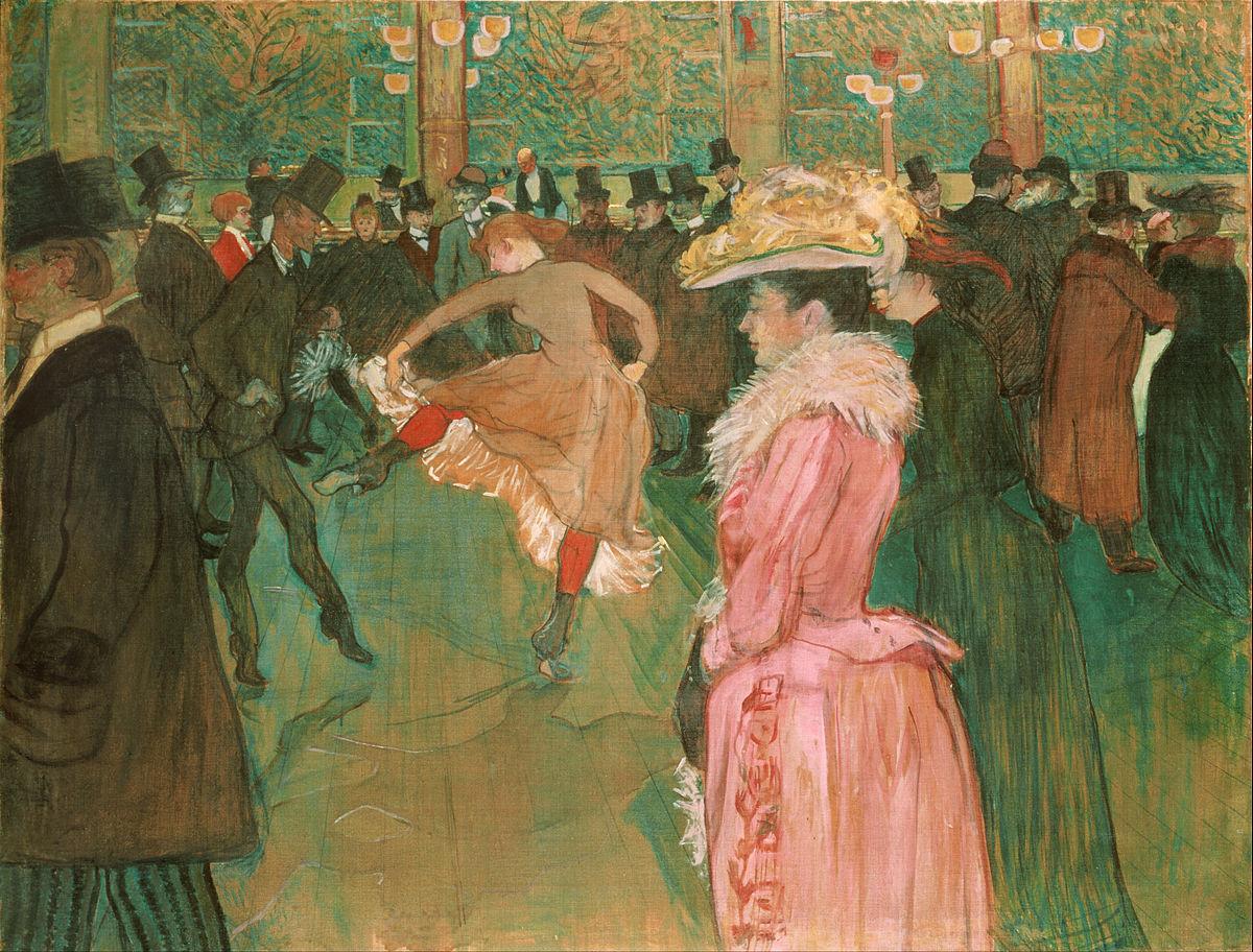 Ballo al Moulin Rouge, Henri de Toulouse-Lautrec