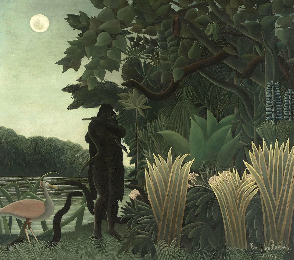 L'incantatrice di serpenti, Henri Rousseau
