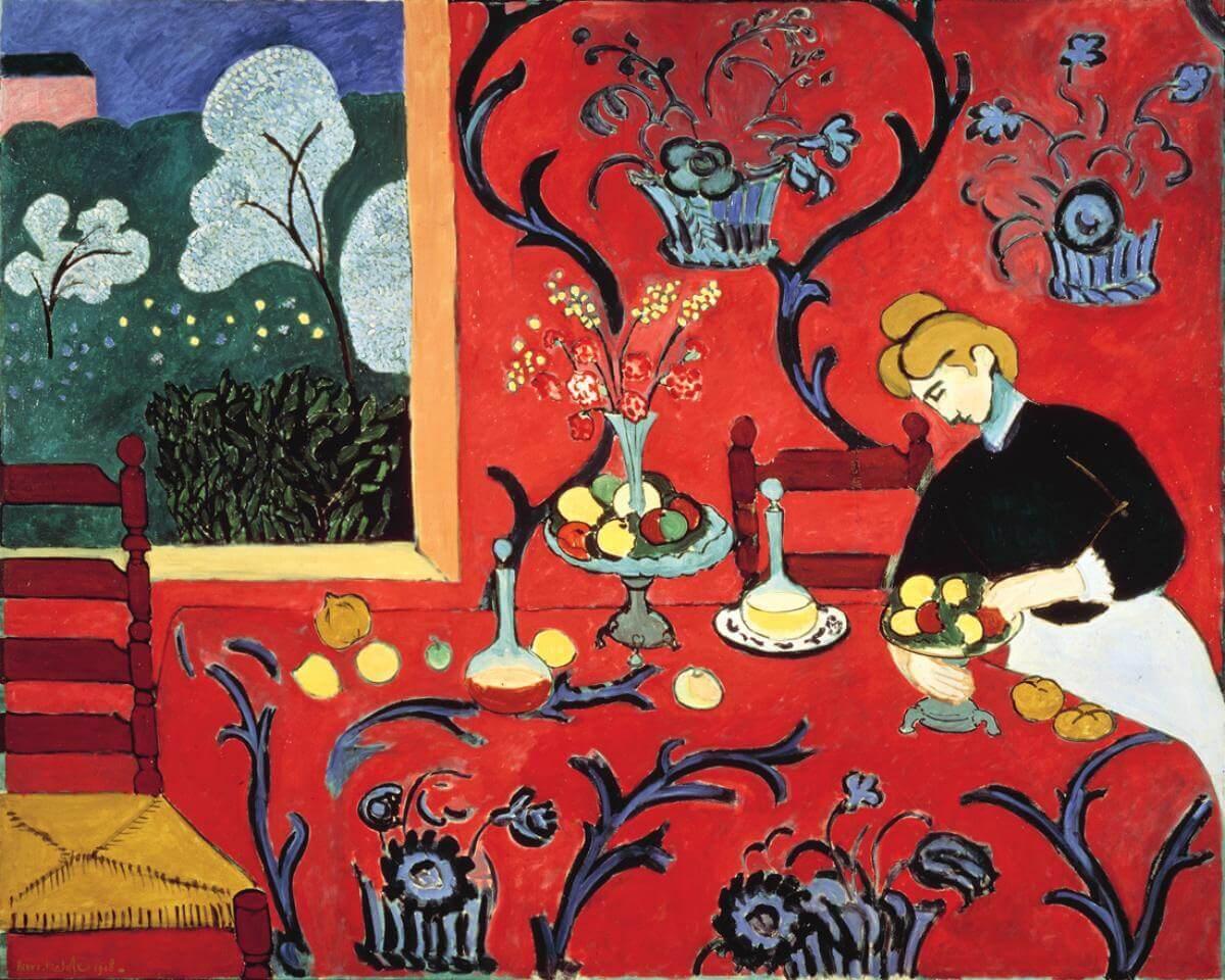 La stanza rossa, Henri Matisse