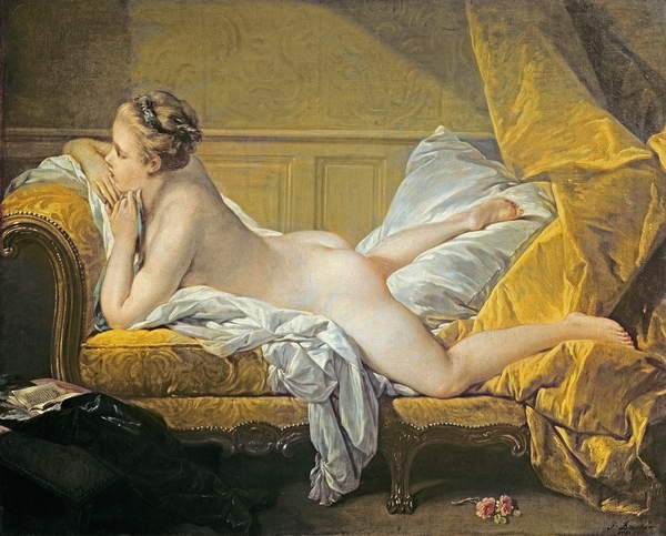 François Boucher, nudo disteso