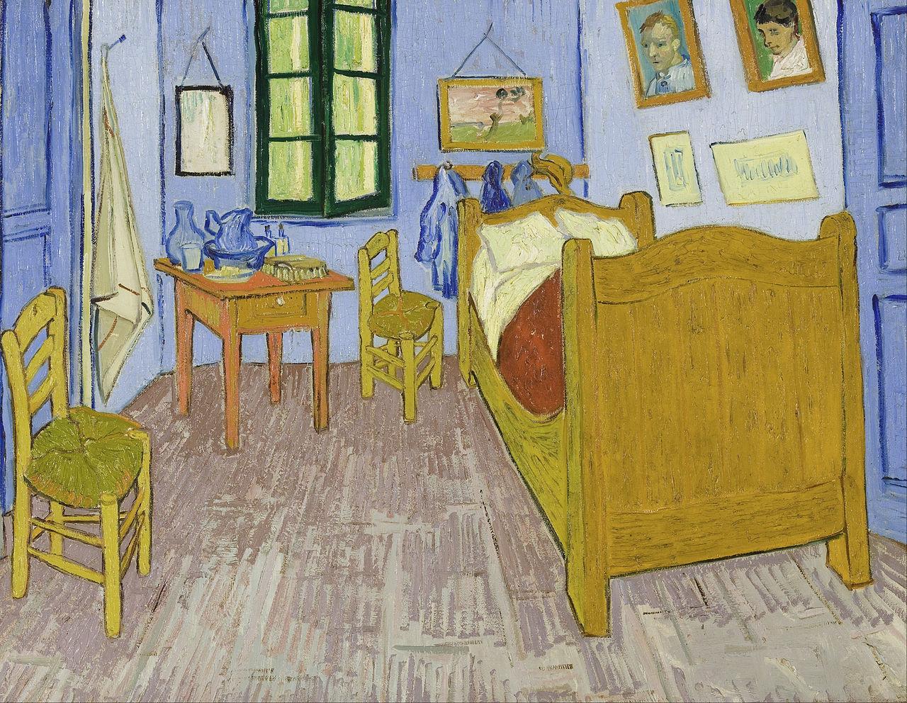 La stanza di Van Gogh ad Arles, Vincent van Gogh
