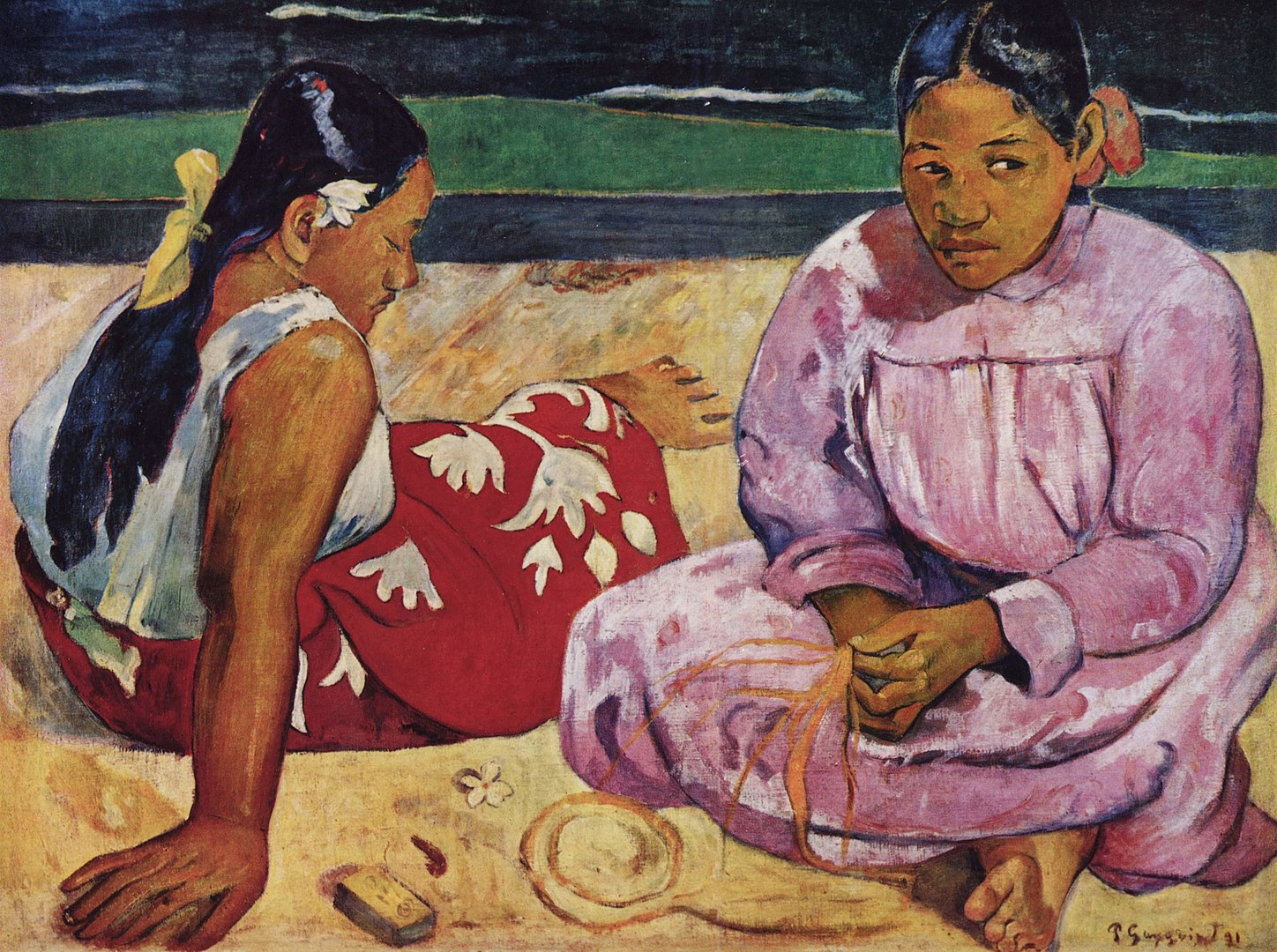 Due donne tahitiane, Paul Gauguin