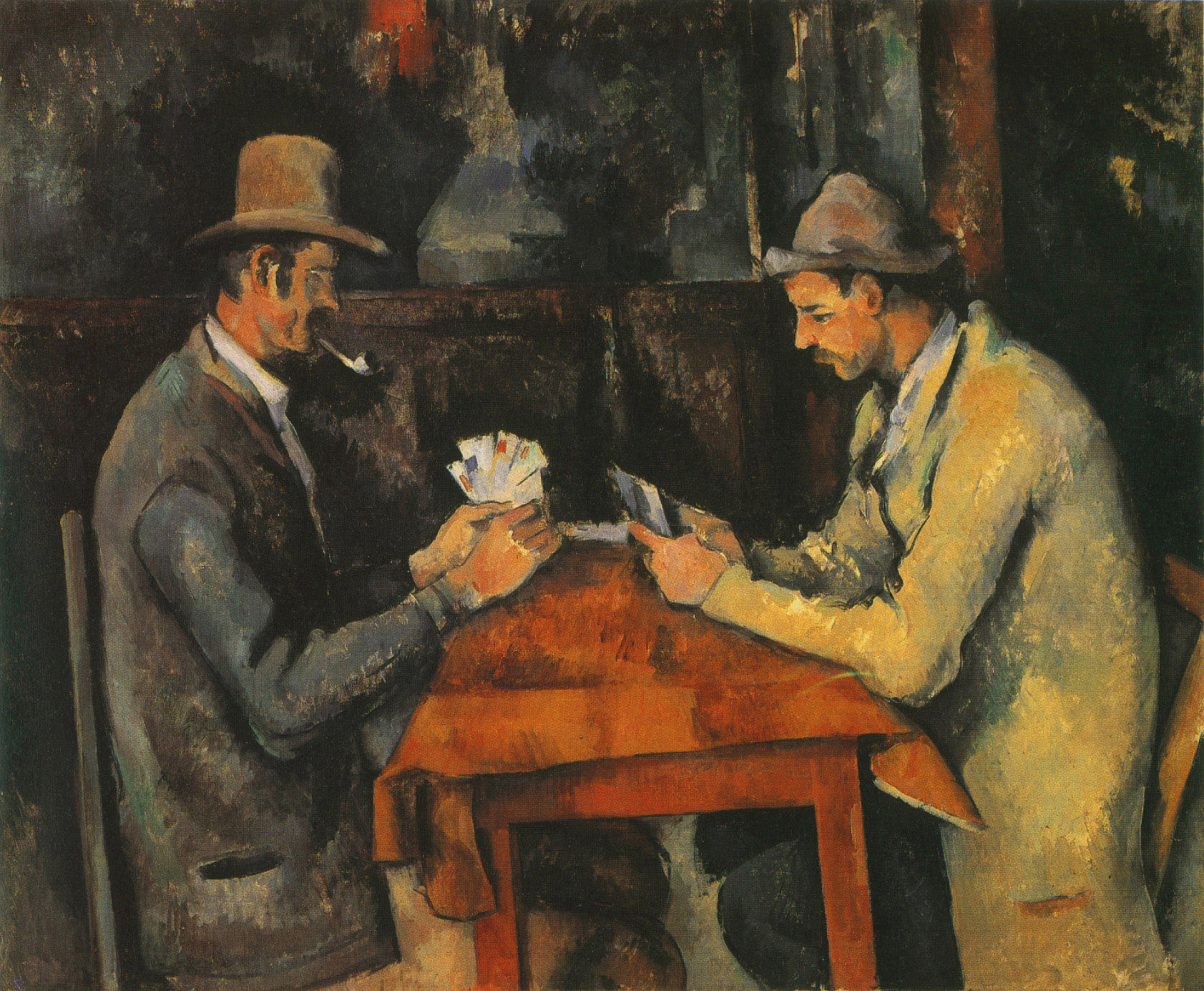 Paul Cezanne, giocatori di carte