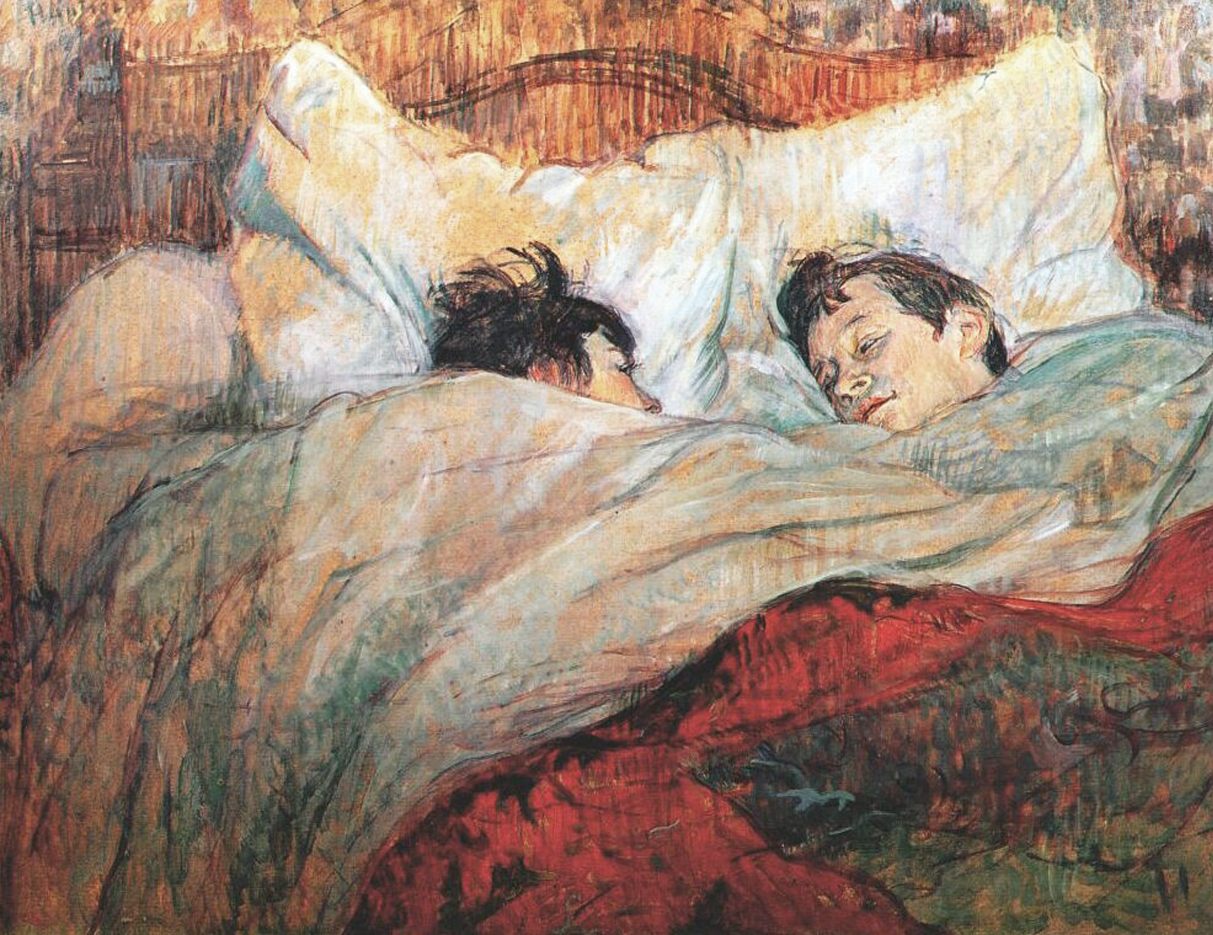 Henri de Toulouse-Lautrec, il letto