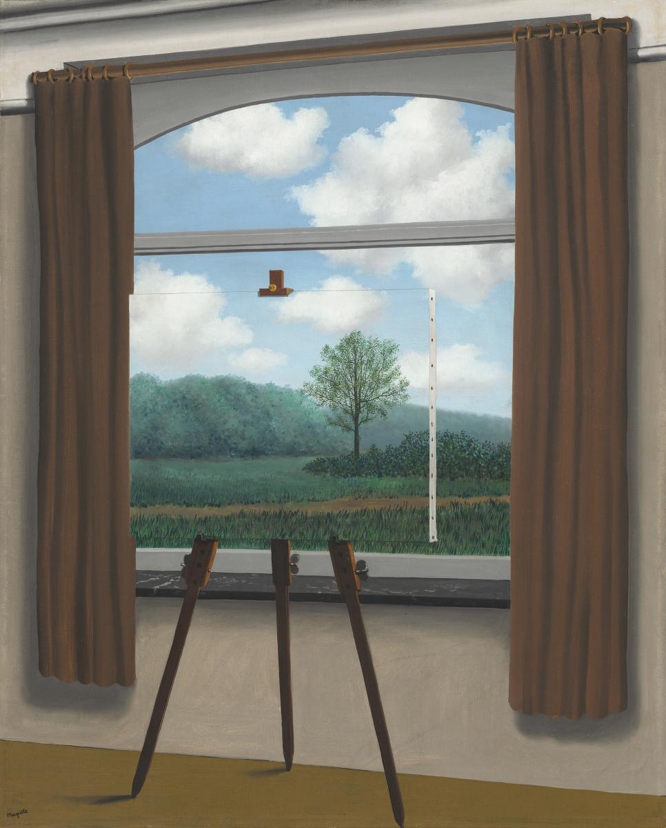 La condizione umana, René Magritte