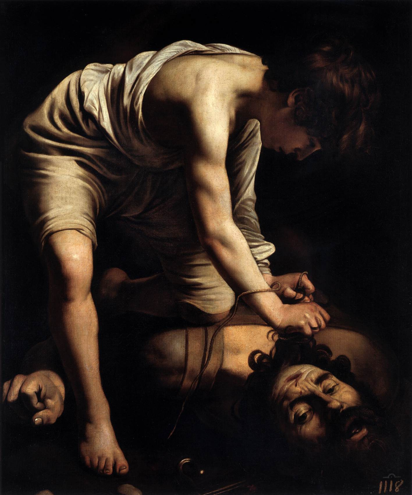 Caravaggio, David e Golia