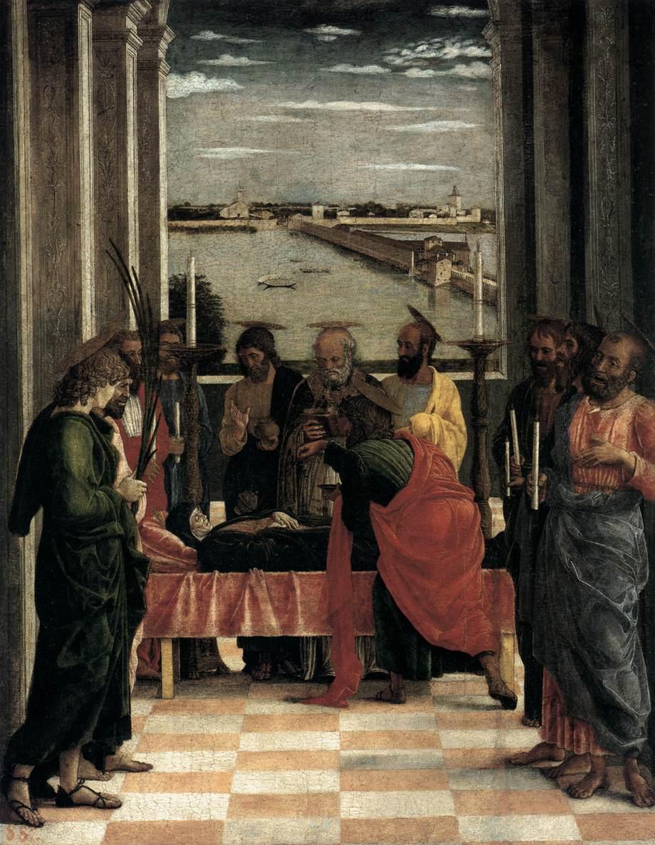 Andrea Mantegna, morte della Vergine