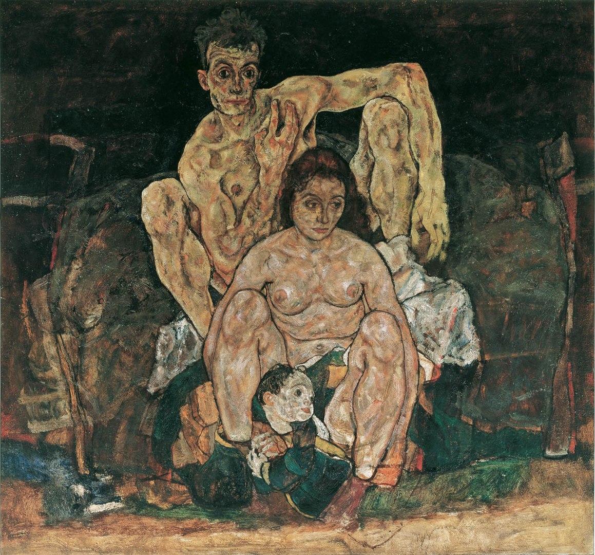 Egon Schiele, la famiglia