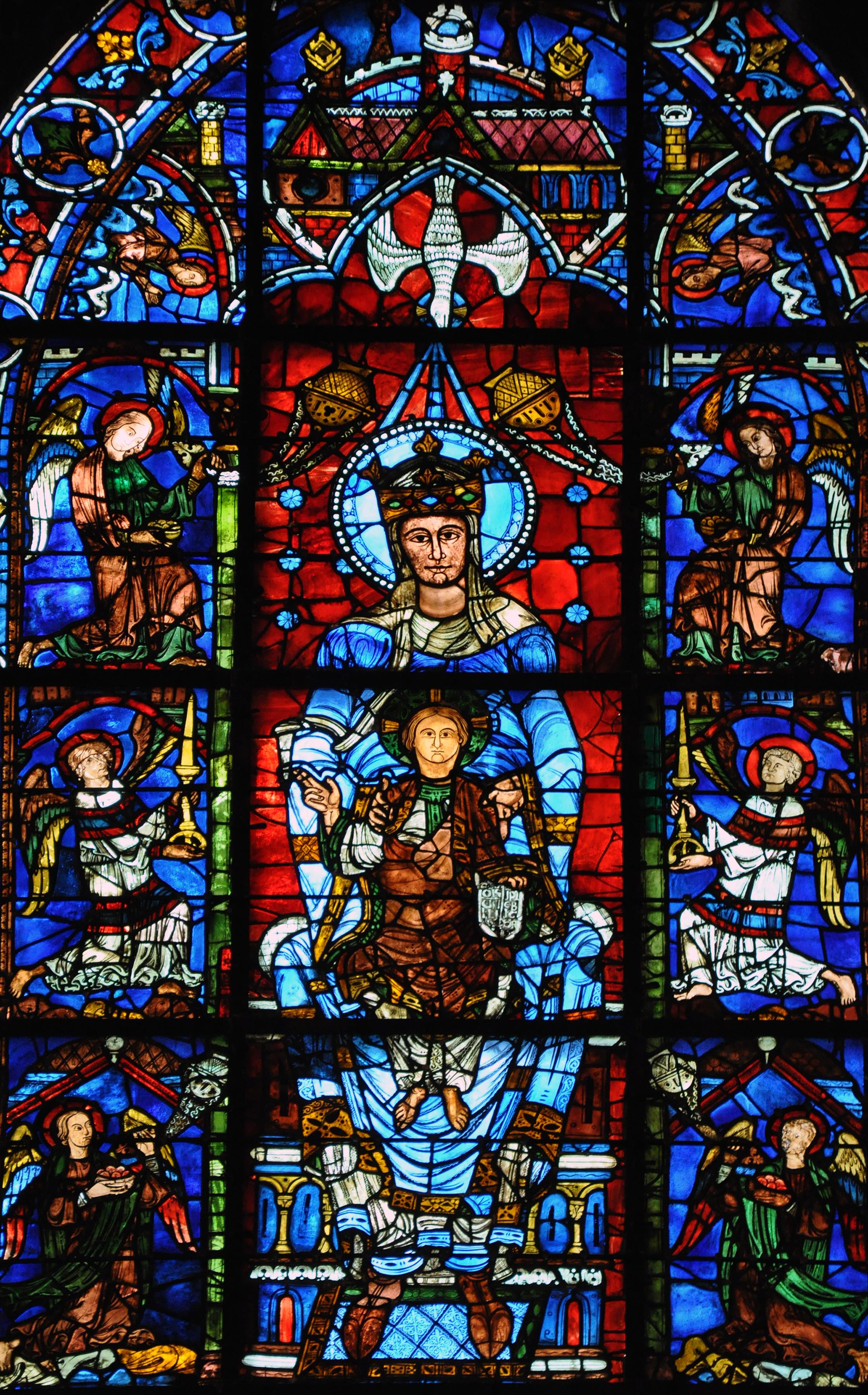 Le vetrate gotiche di Chartres