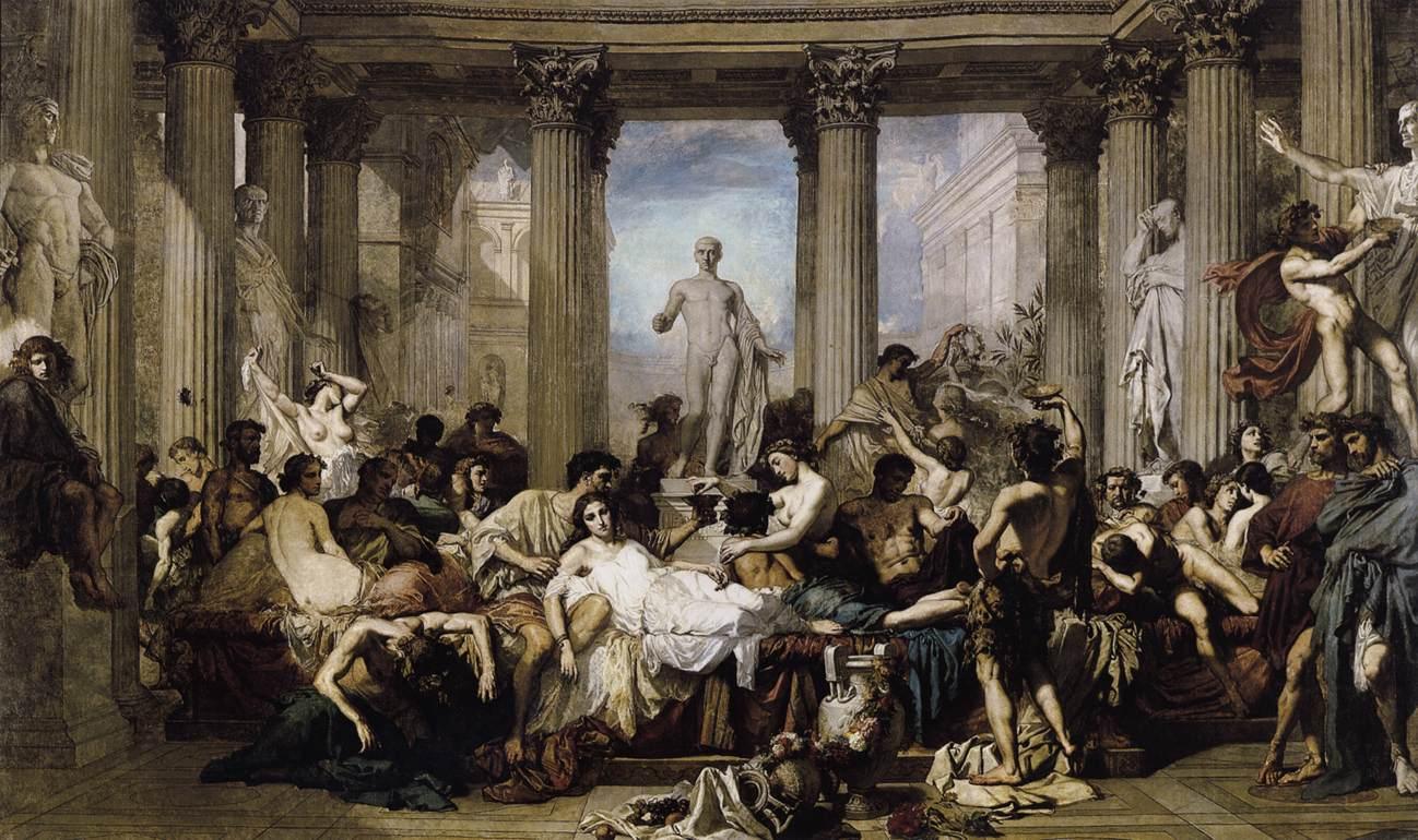 Thomas Couture, i romani della decadenza