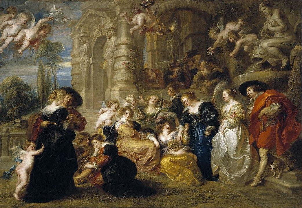 Pieter Paul Rubens, Giardino d'amore