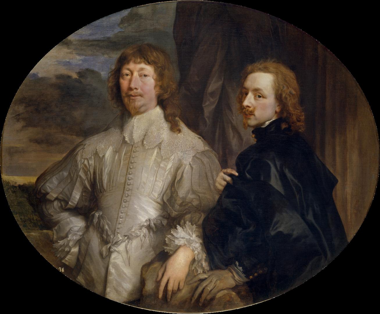 Anton van Dyck, autoritratto con Sir Endymion Porter