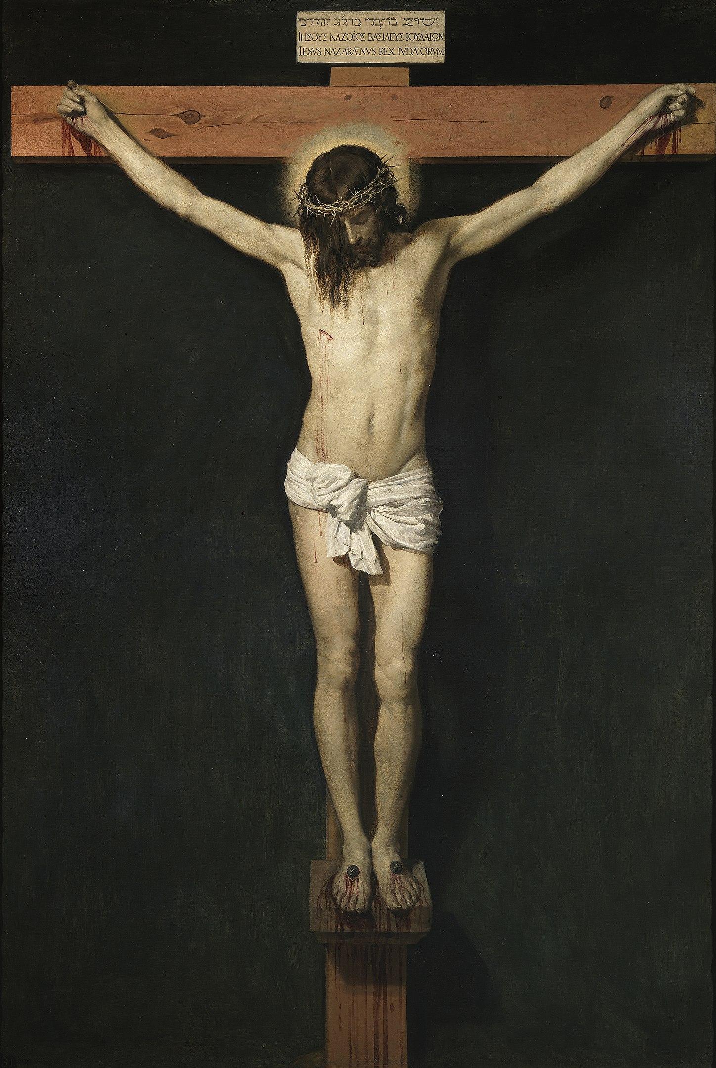 Diego Velazquez, Cristo crocifisso