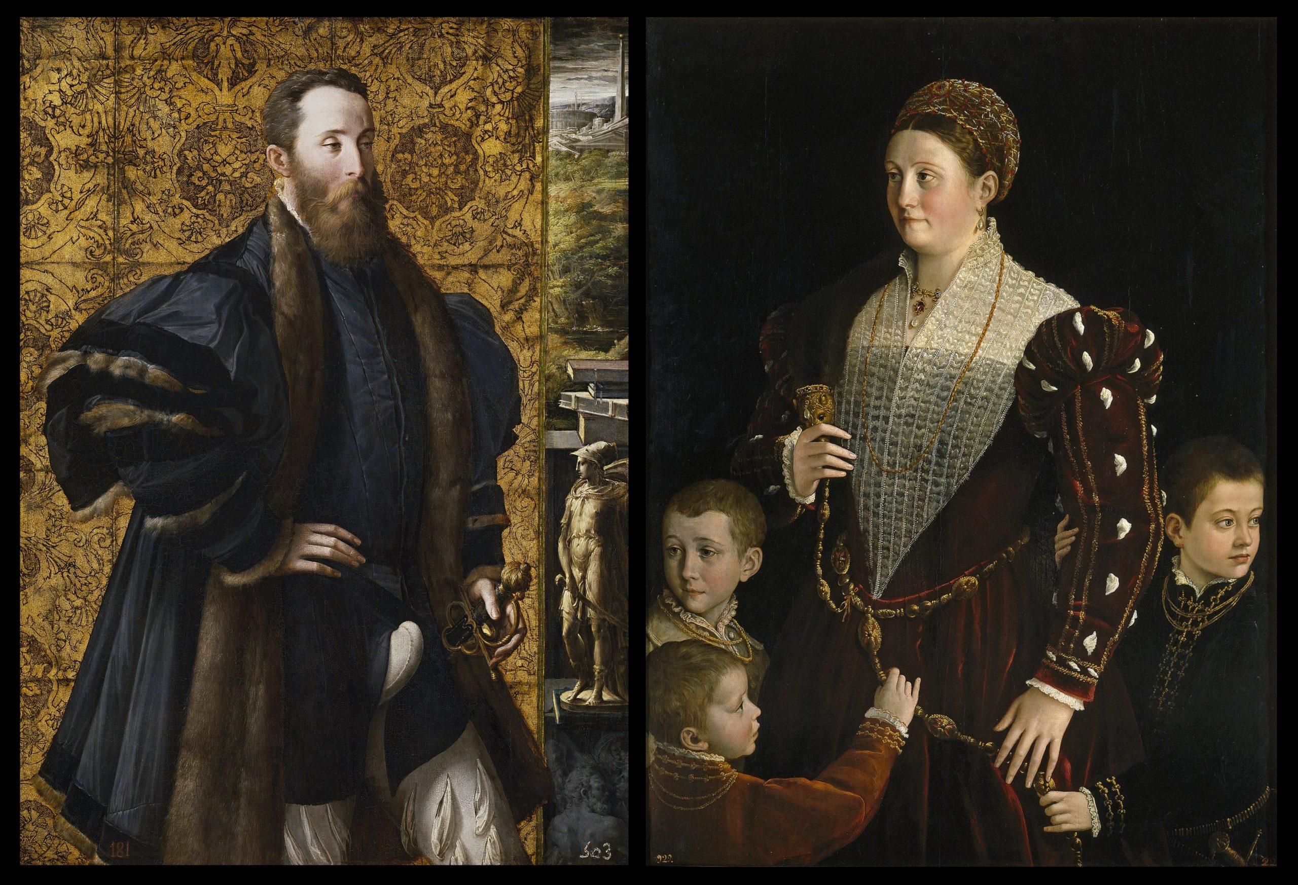 Parmigianino, Pier Maria Rossi di San Secondo e Camilla Gonzaga