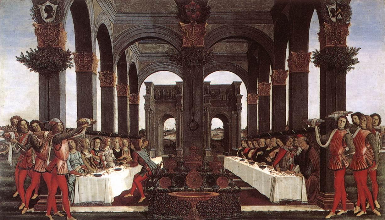 Sandro Botticelli, Nastagio degli Onesti, parte IV