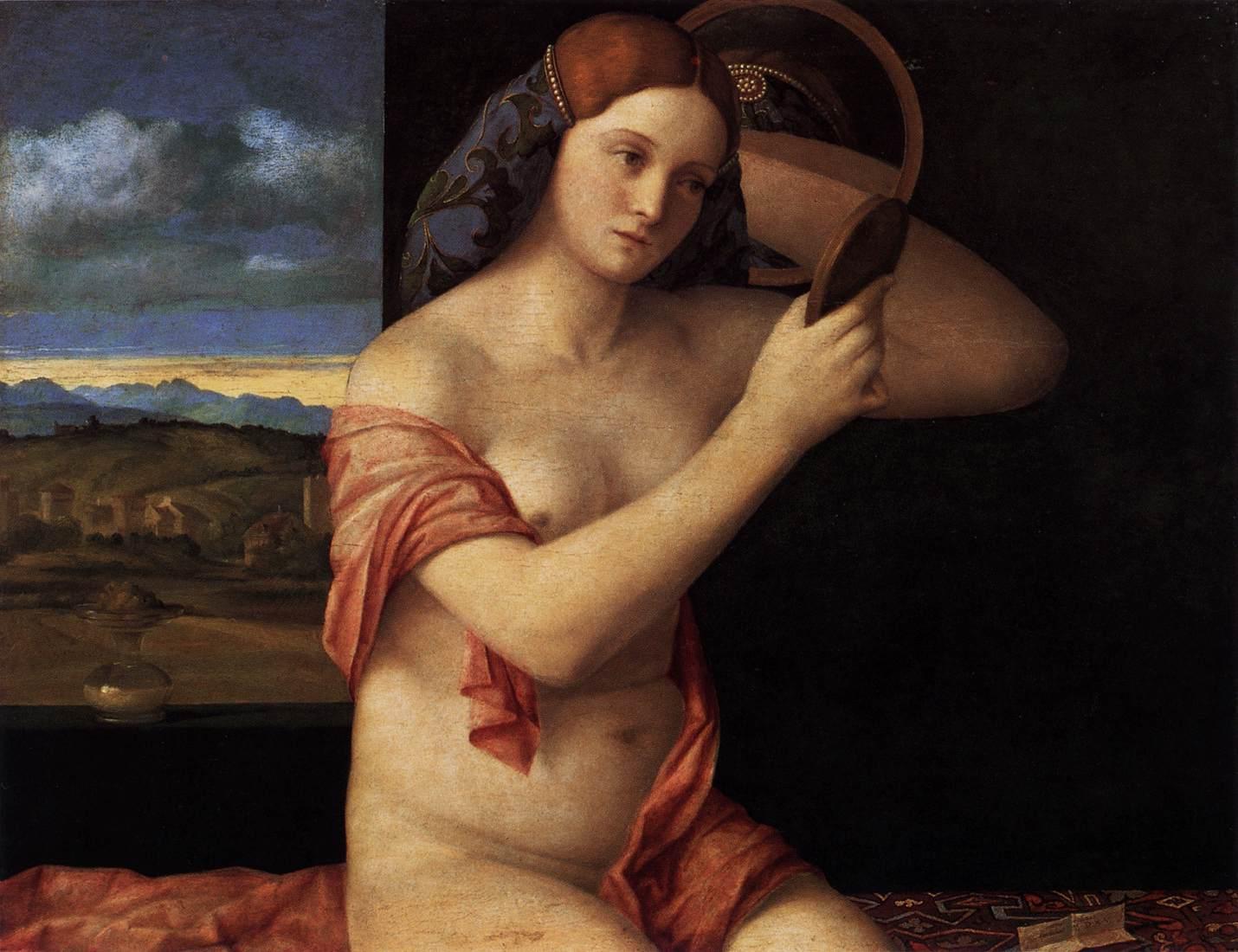 Giovanni Bellini, donna allo specchio