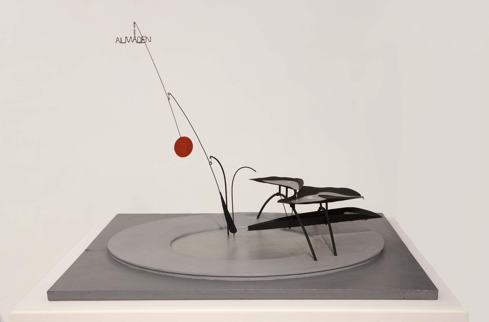 Alexander Calder, fontana di mercurio