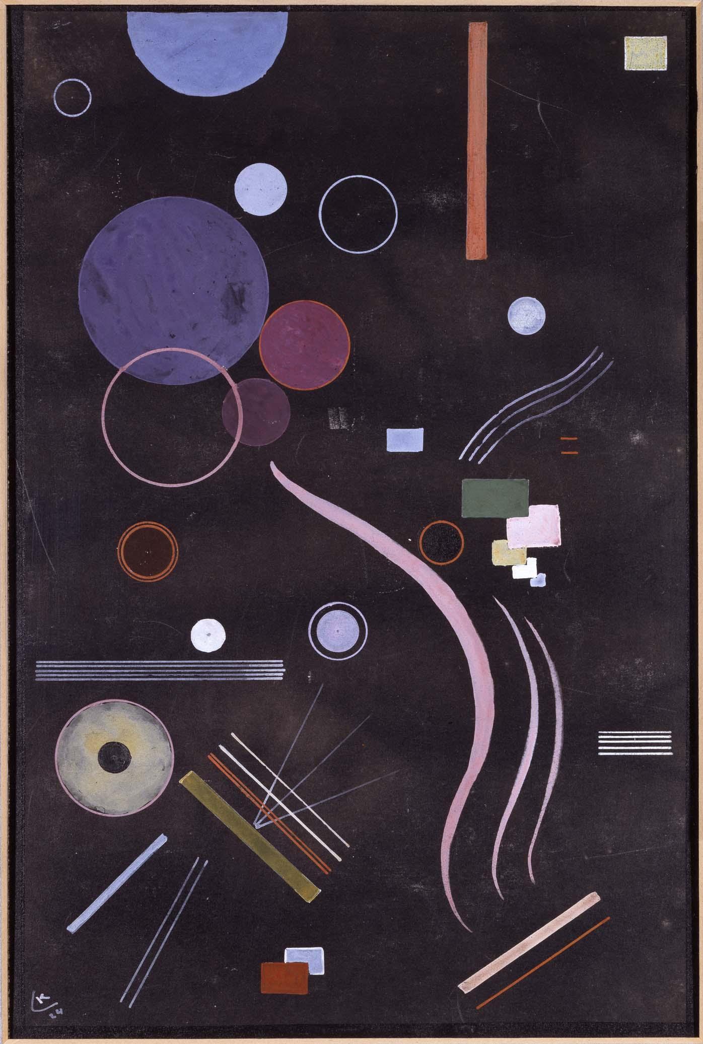 Wasilij Kandinskij, acentrico