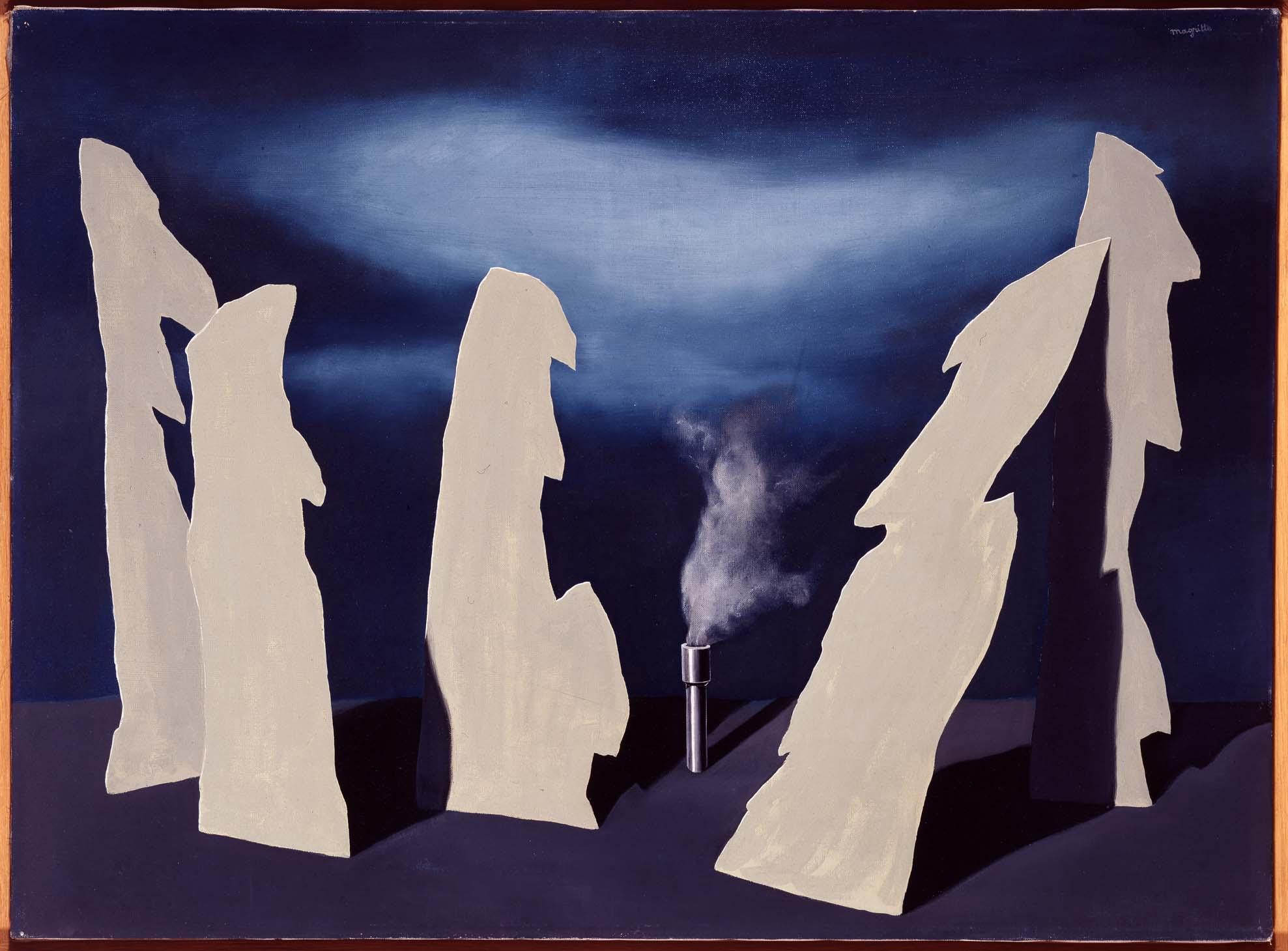 René Magritte, il segreto del corteggiamento
