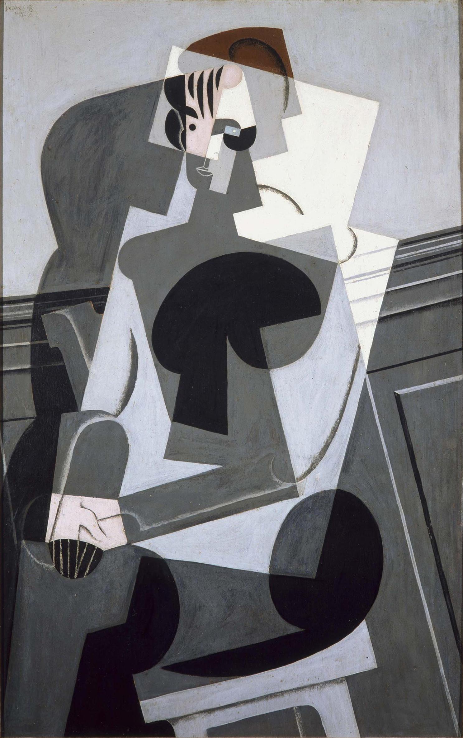 Juan Gris, ritratto di Madame Josette Gris