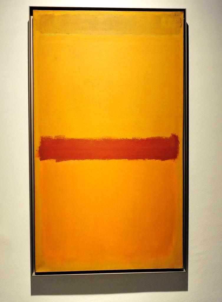 Mark Rothko, arancione, prugna, giallo