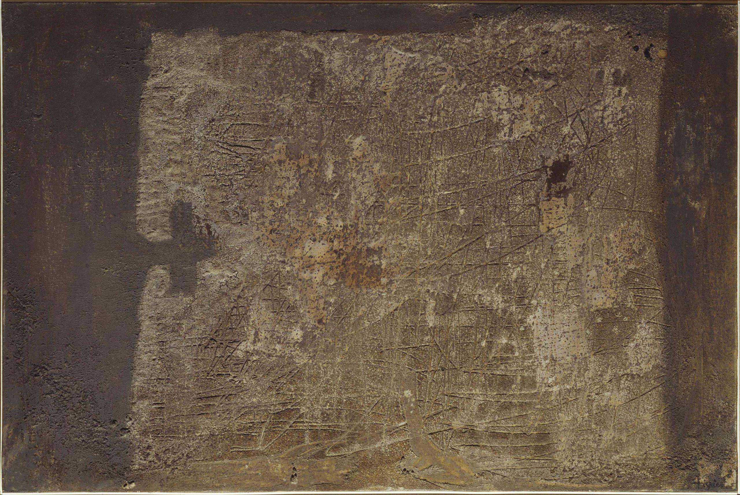 Antoni Tàpies, sovrapposizioni di materia grigia