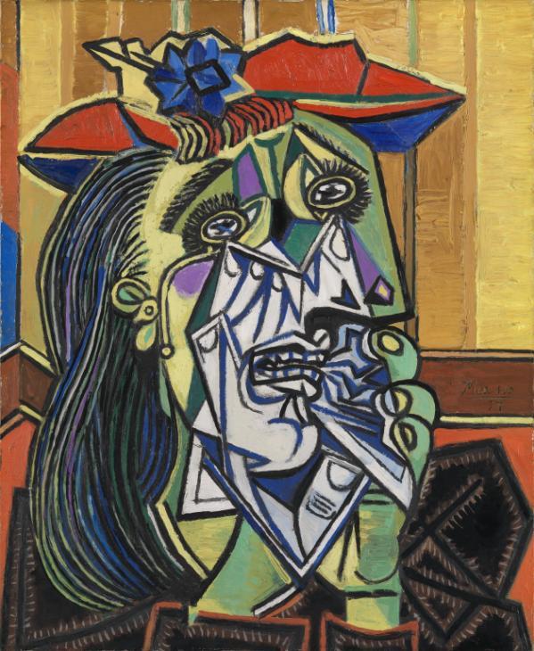 Pablo Picasso, donna piangente