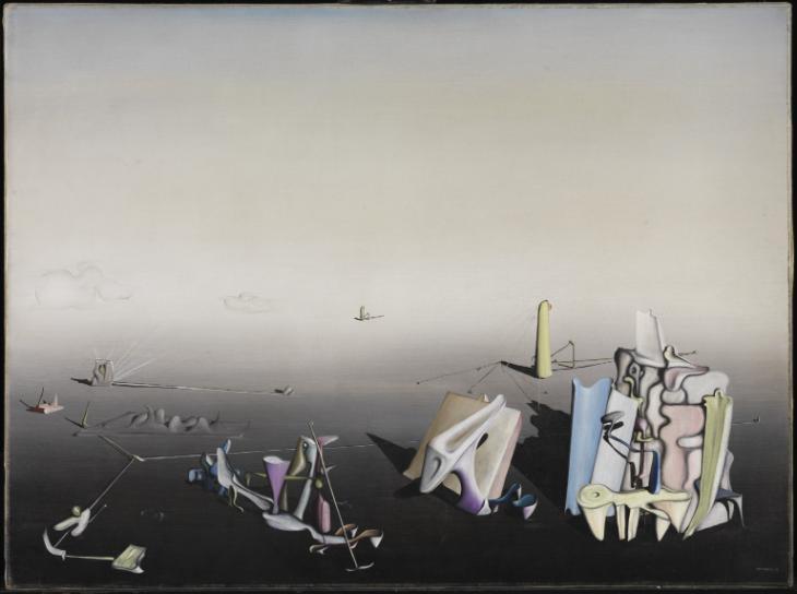 Yves Tanguy, Il giorno blu