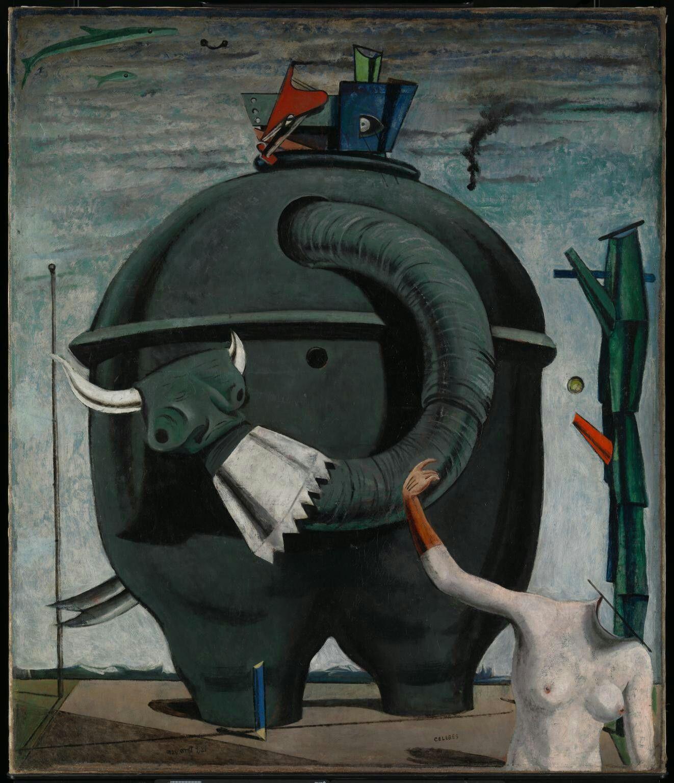 Max Ernst, L'éléphant Célèbes