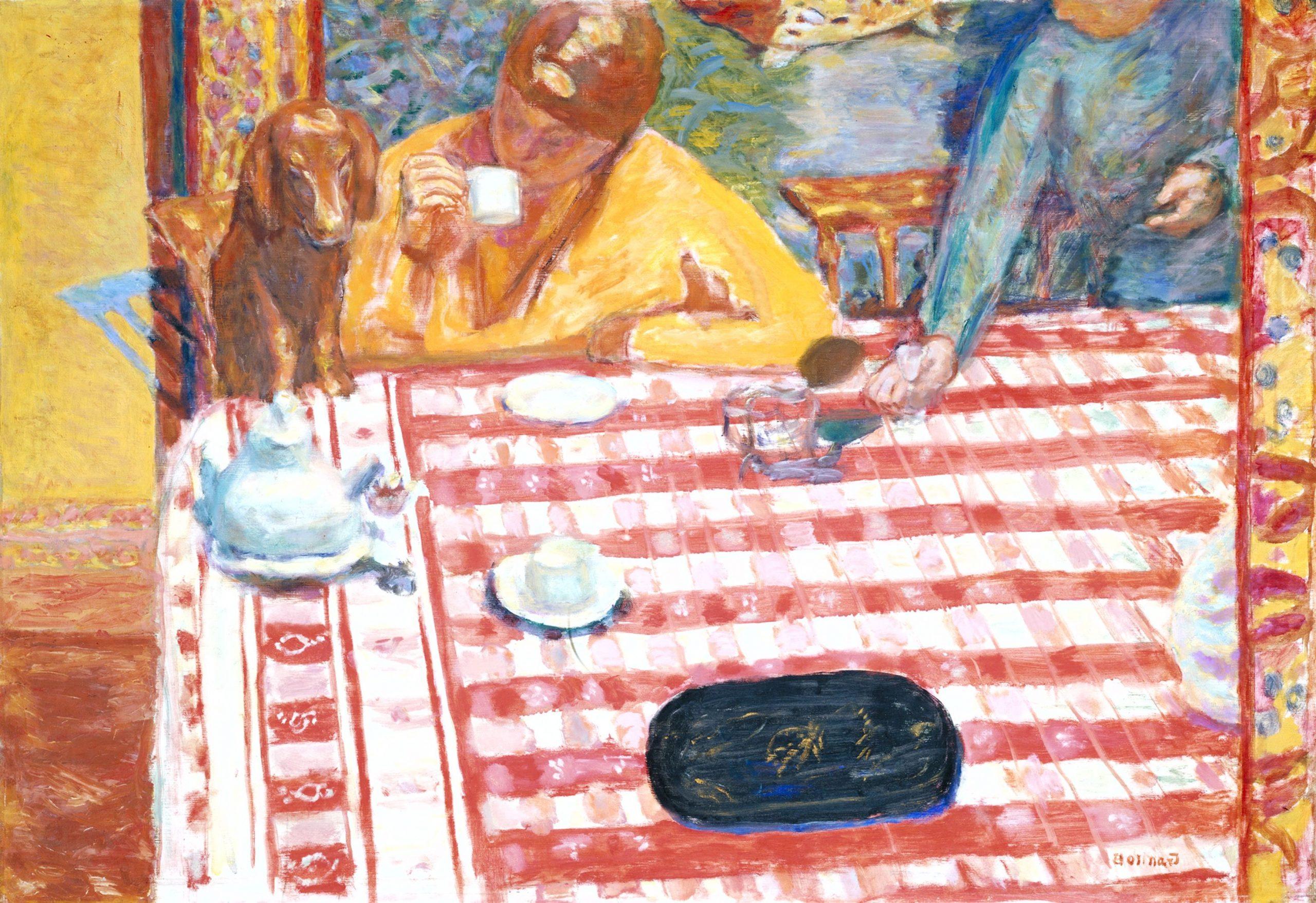 Pierre Bonnard, Il caffè