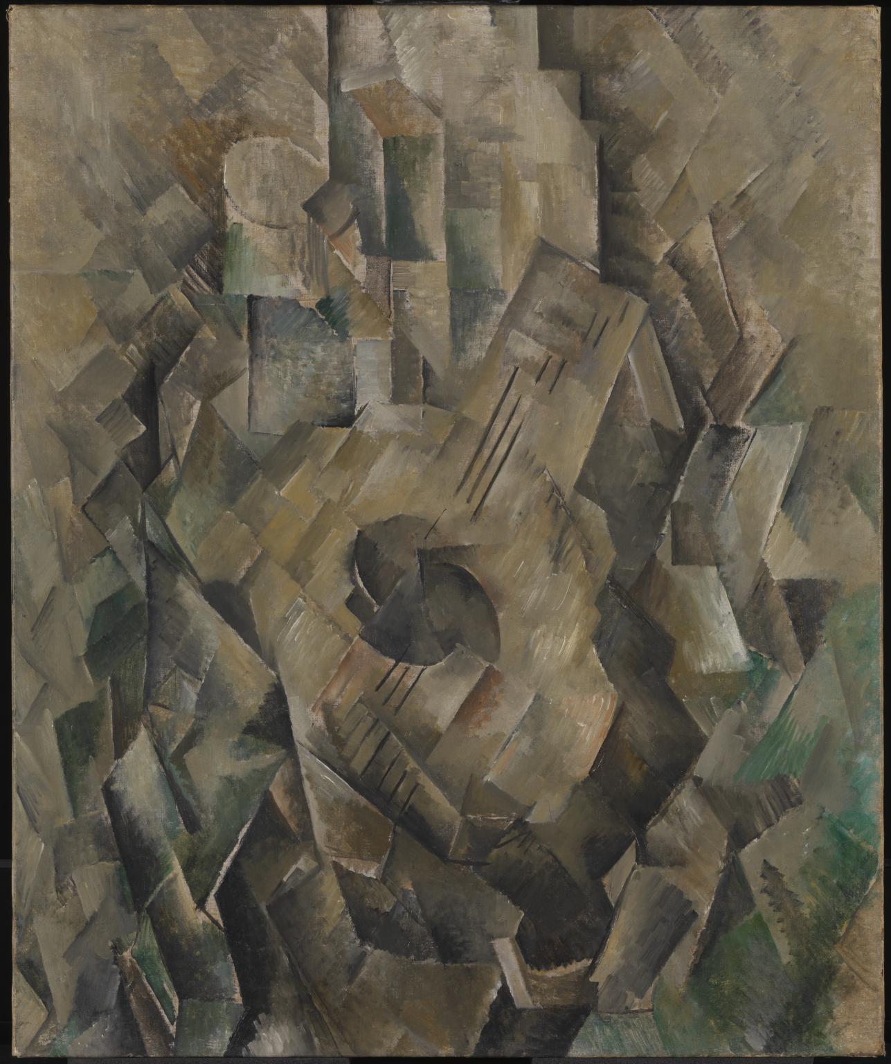 Georges Braque, La Mandore