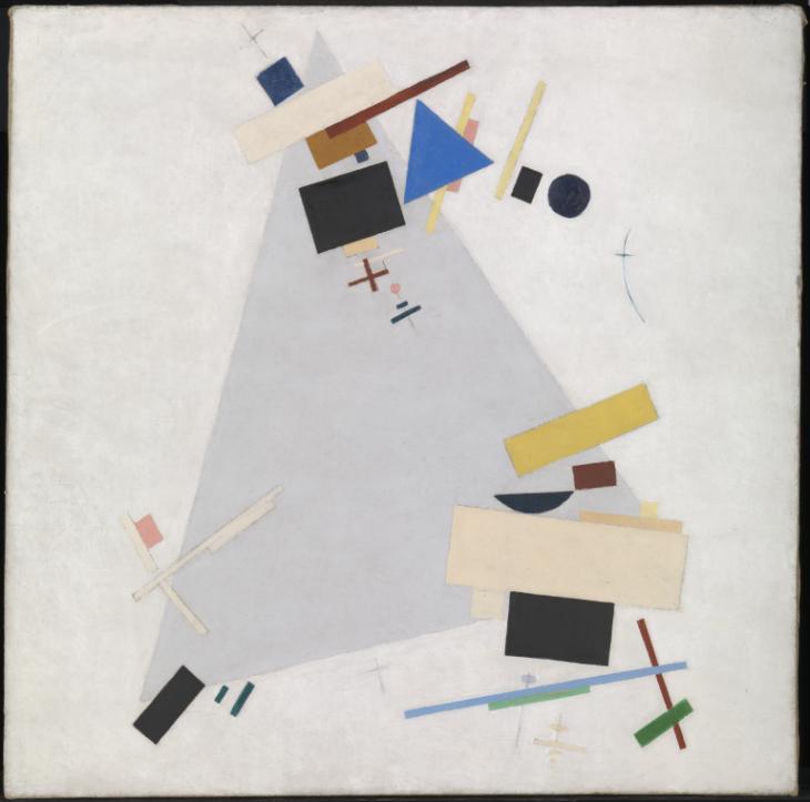 Kazimir Malevich, Suprematismo dinamico
