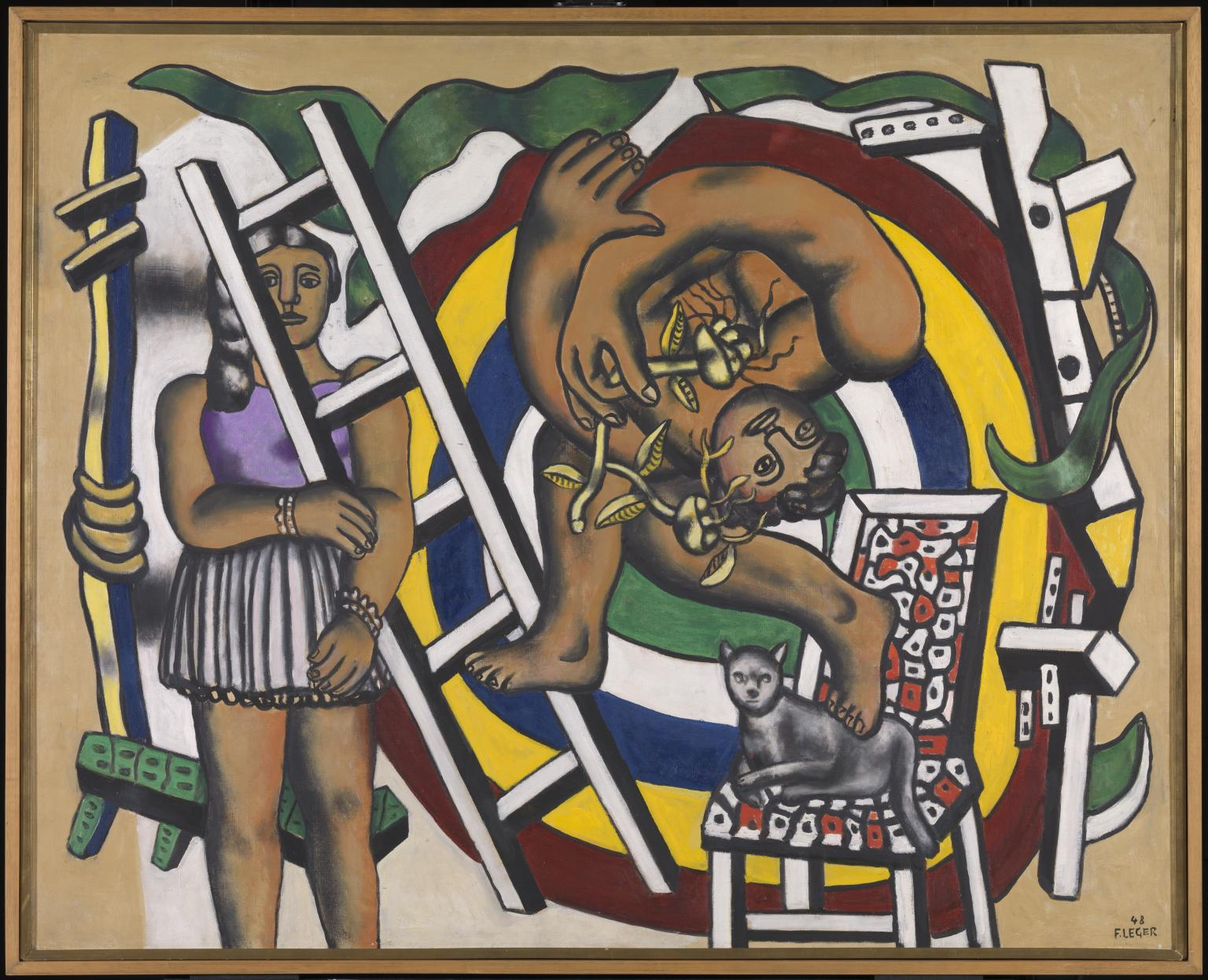 Fernand Léger, L'acrobata e la sua compagna