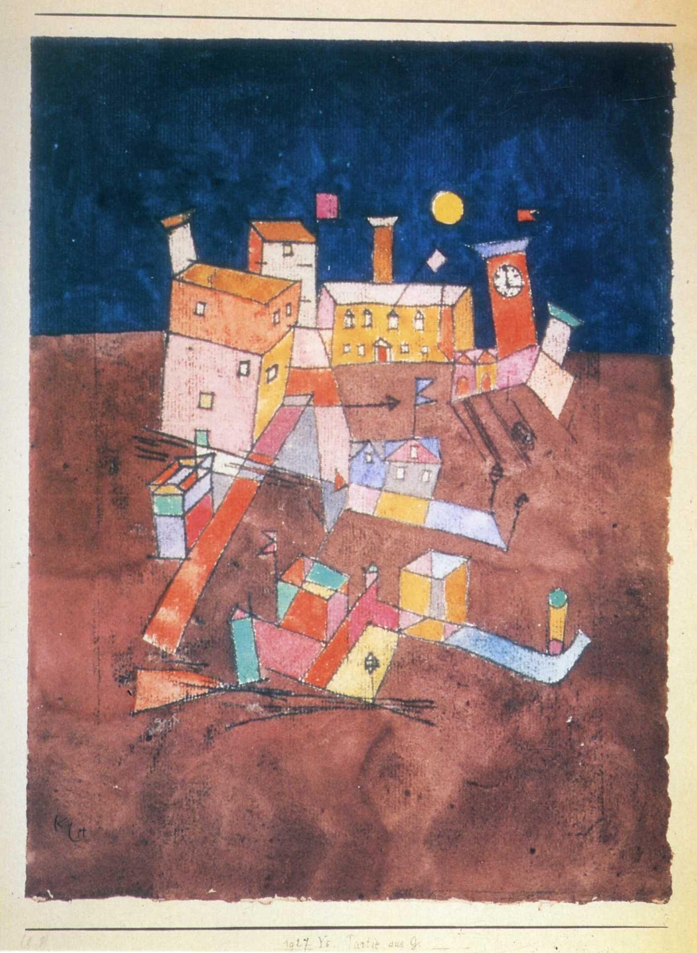 Paul Klee, parte di G