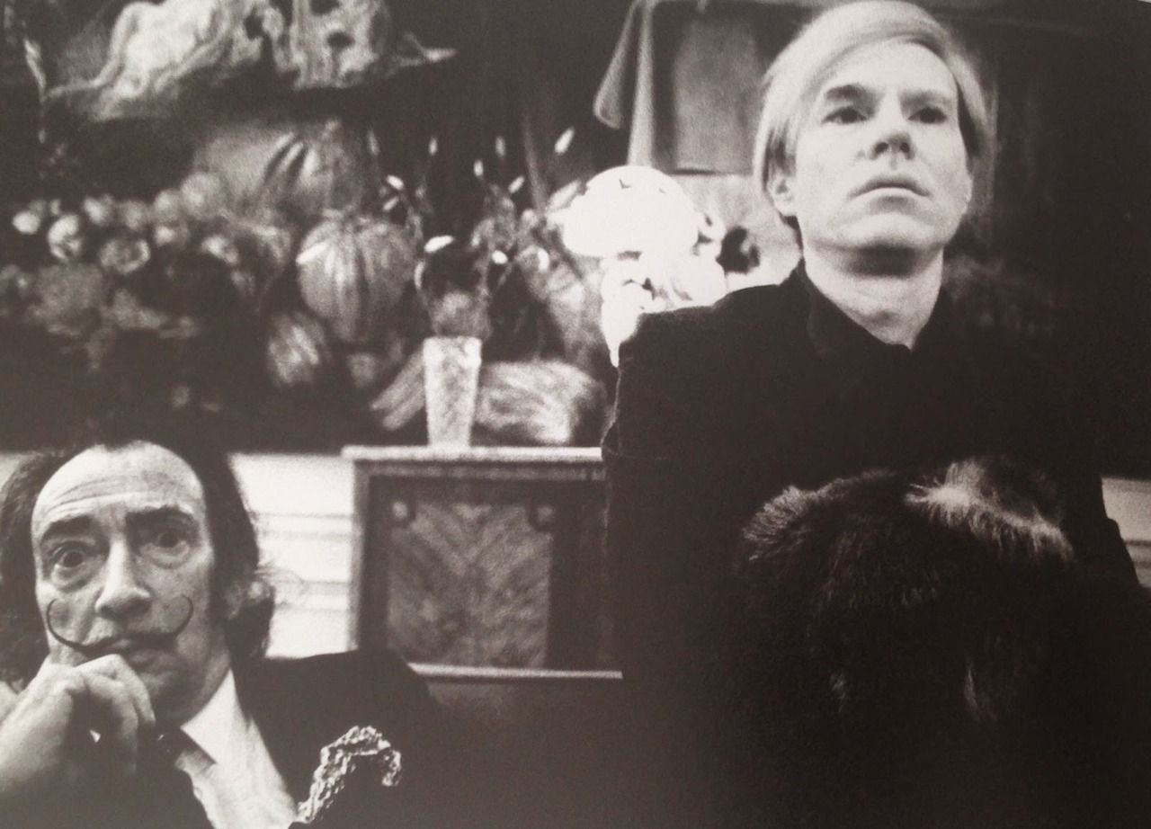 Andy Warhol e Salvador Dalì
