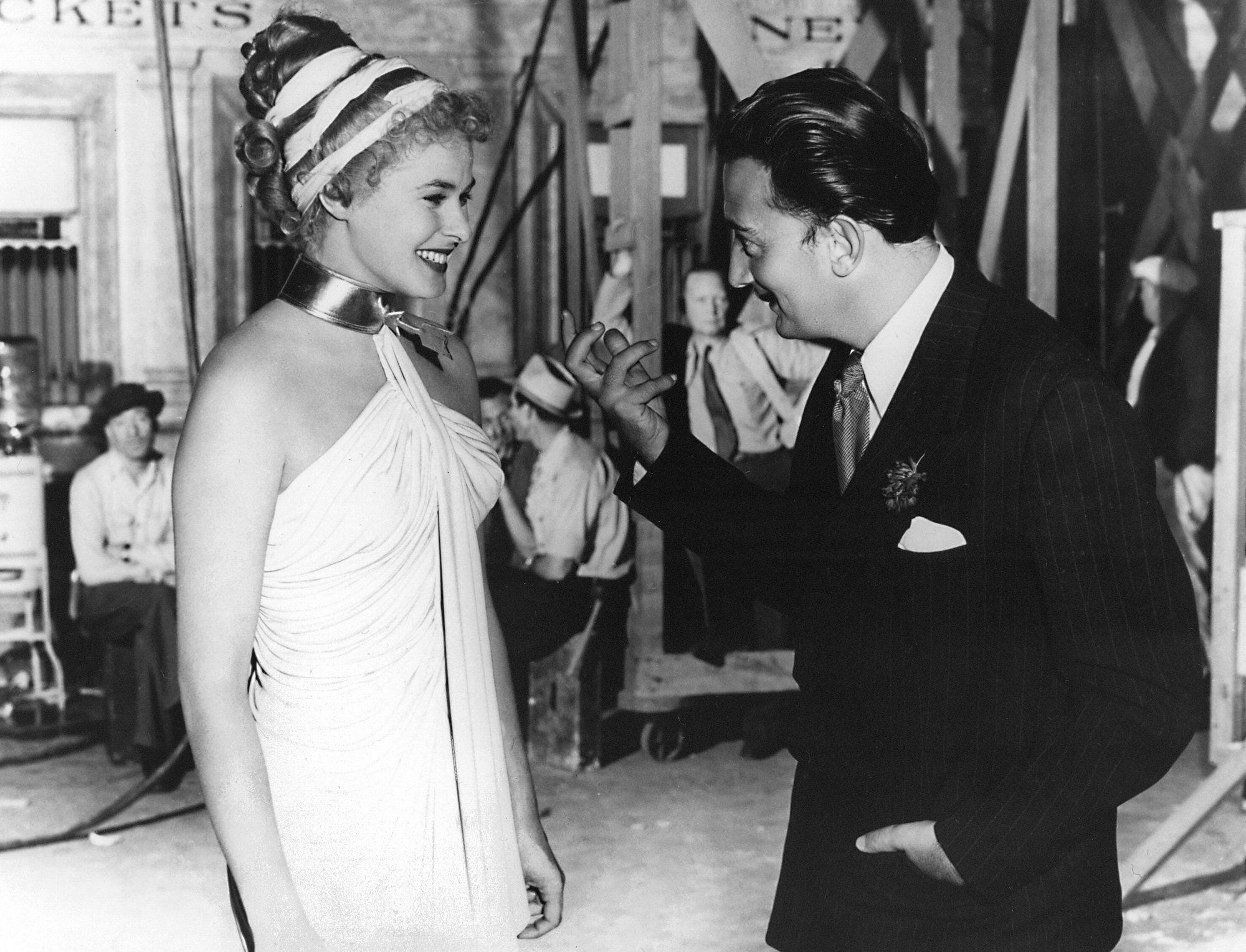 Ingrid Bergman e Salvador Dalì