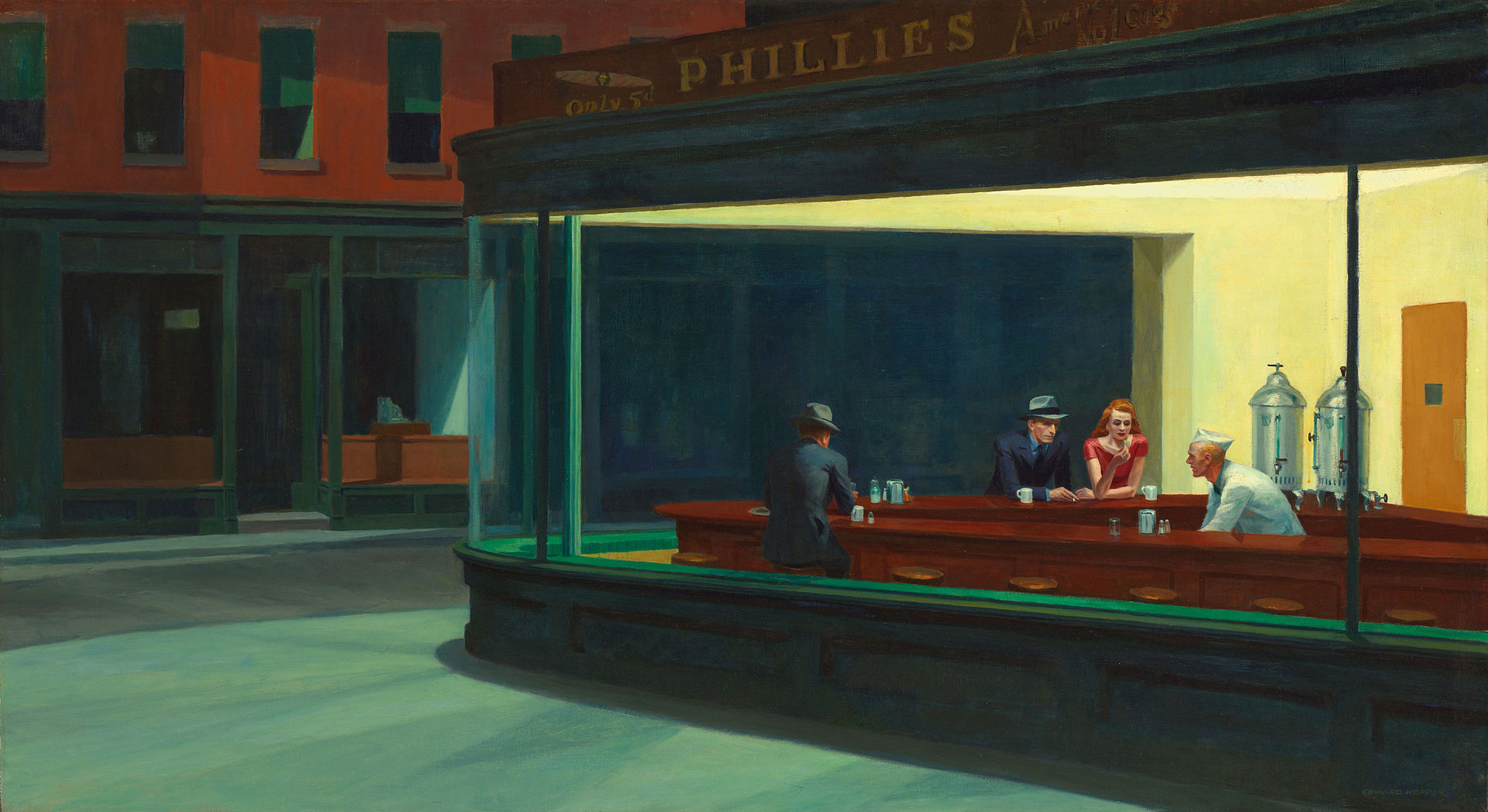 Edward Hopper, Nottambuli