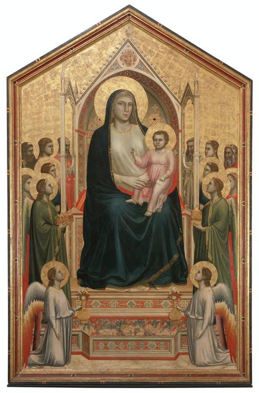 Giotto, maestà di Ognissanti