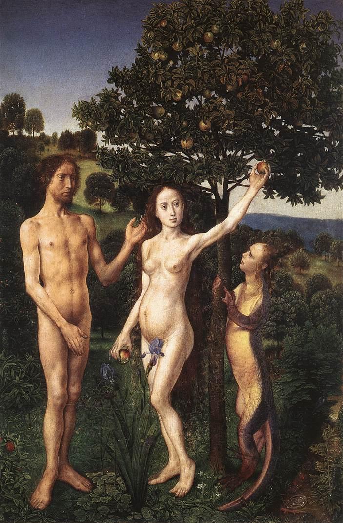 Van der Goes, il peccato originale