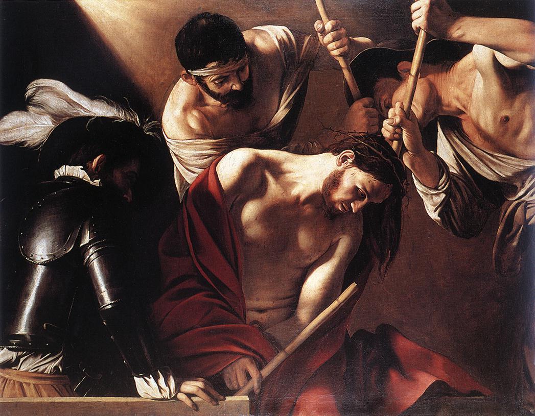 Caravaggio, incoronazione di spine